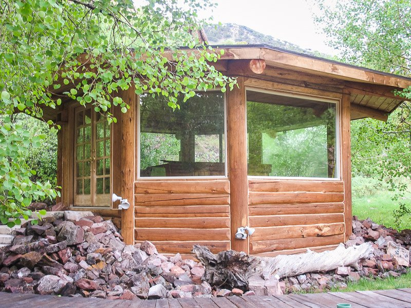 The Old Mill Log Cabins (Afton, Wyoming) - Motel Reviews ...  Old Log Cabins Wyoming